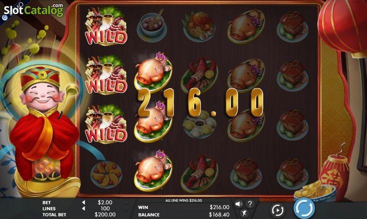 Wild. God Of Cookery(Video SlotfromGenesis)