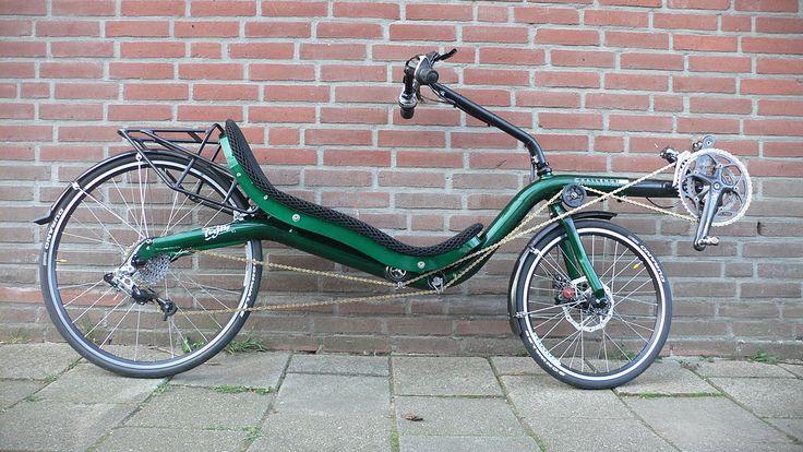 Challenge Fujin SL recumbent, trekking version - Bicicleta reclinada - Wikipedia, la enciclopedia libre