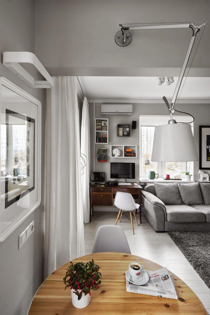 Дизайн однокомнатной квартиры: Однокомнатная в хрущевке, 30 кв.м.