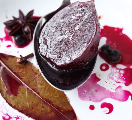 Spiced sweet & sour pickled beetroot | BBC Good Food Great way to use beetroot fresh from Abel and Cole organic veg suppliers.