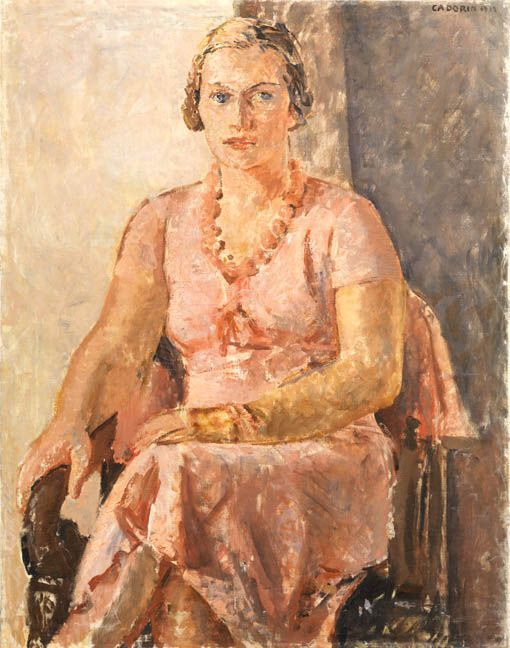 Guido Cadorin - Ritratto di signora