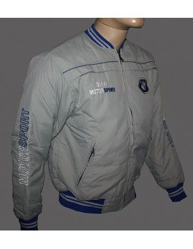 BMW Grey Jacket with embroidered logos from http://autofanstore.com