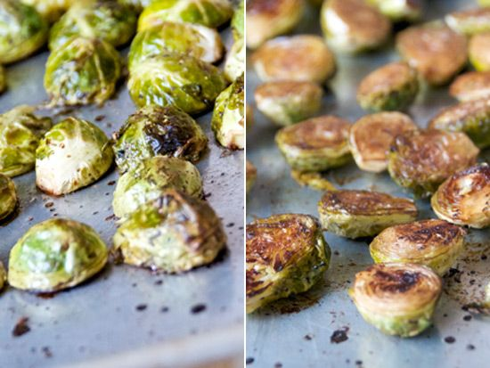 roasted brussel sprouts!