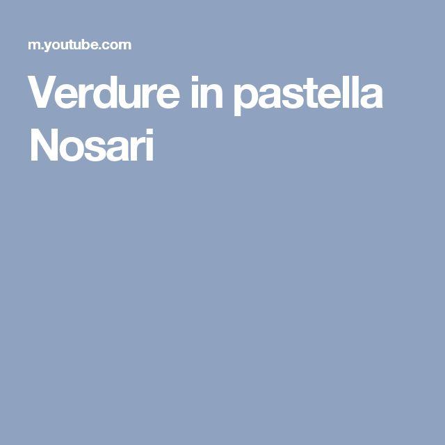 Verdure in pastella Nosari