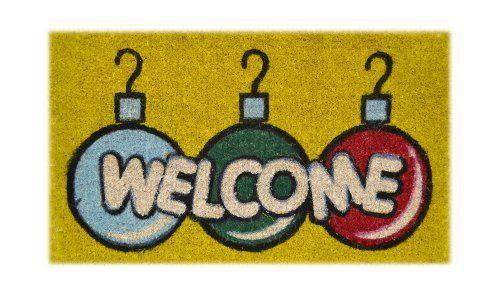 Awesome Christmas Coir Doormat #1: A4757db833553049ee7bda26b07a28c3--coir-doormat-christmas-themes.jpg