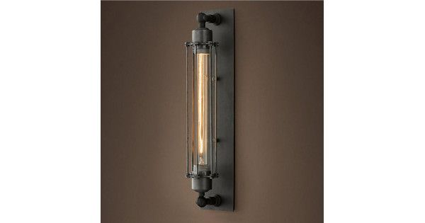 Köp Industriella Revolutionen Era Style Rustic Vintage Vägglampa | BazaarGadgets.com