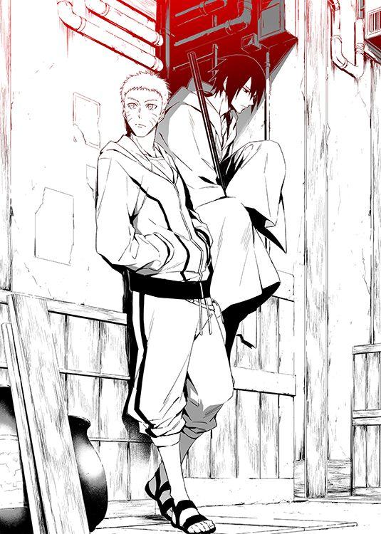 NARUTO, Uchiha Sasuke, Uzumaki Naruto