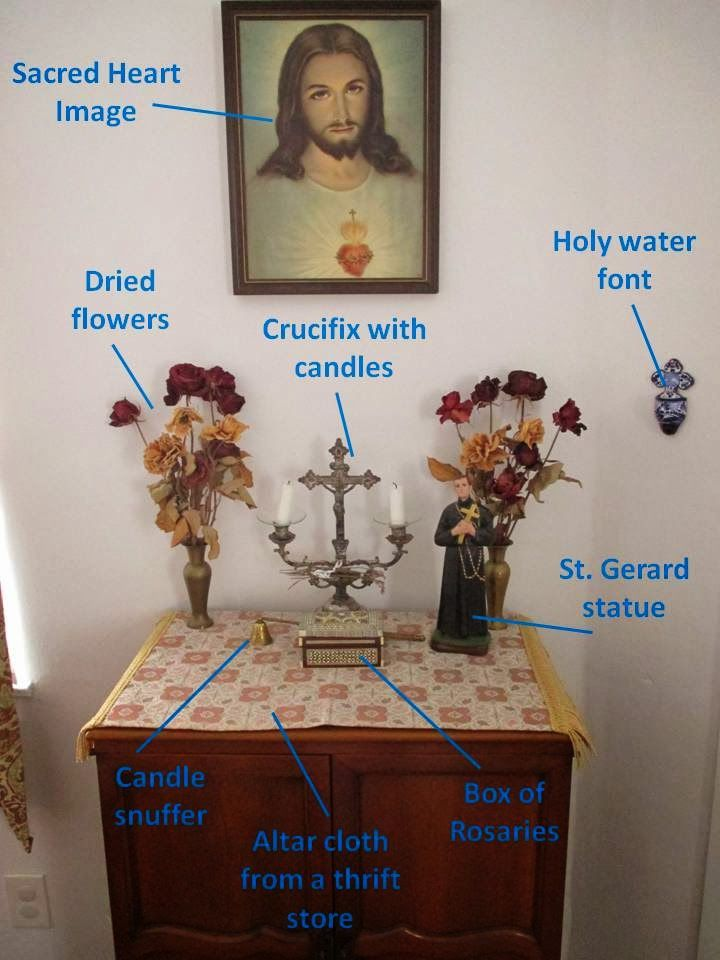 http://ourordinarylifeextraordinary.blogspot.ca/2014/02/setting-up-home-altar.html