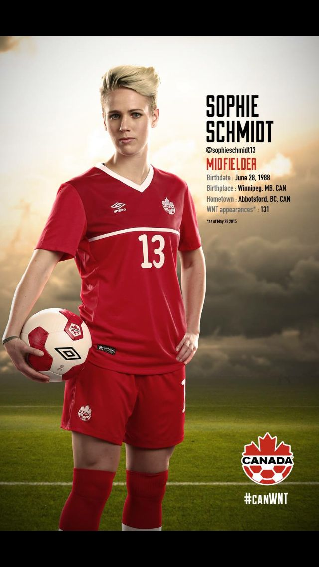 #CanWNT | #FIFAWWC | #CanadaRED | Sophie Schmidt |