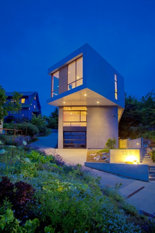 Cool house.