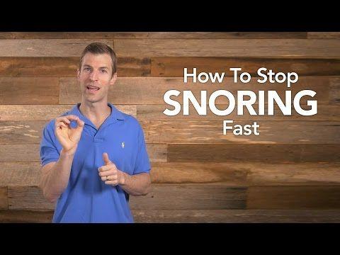 Stoppen met snurken Fast Met deze natuurlijke remedies   de Whoot