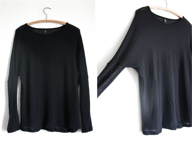 Black Batwing Pullover #style #fashion #outfit #ootd #fashionblog #fblogger #fblog #fashionblogger #outfitidea