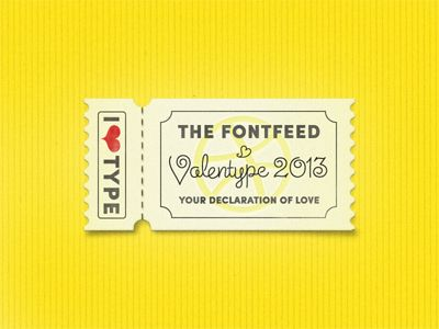 valentype 2013  announcement ...