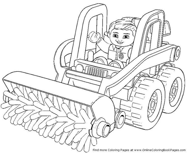 lego coloring page 5