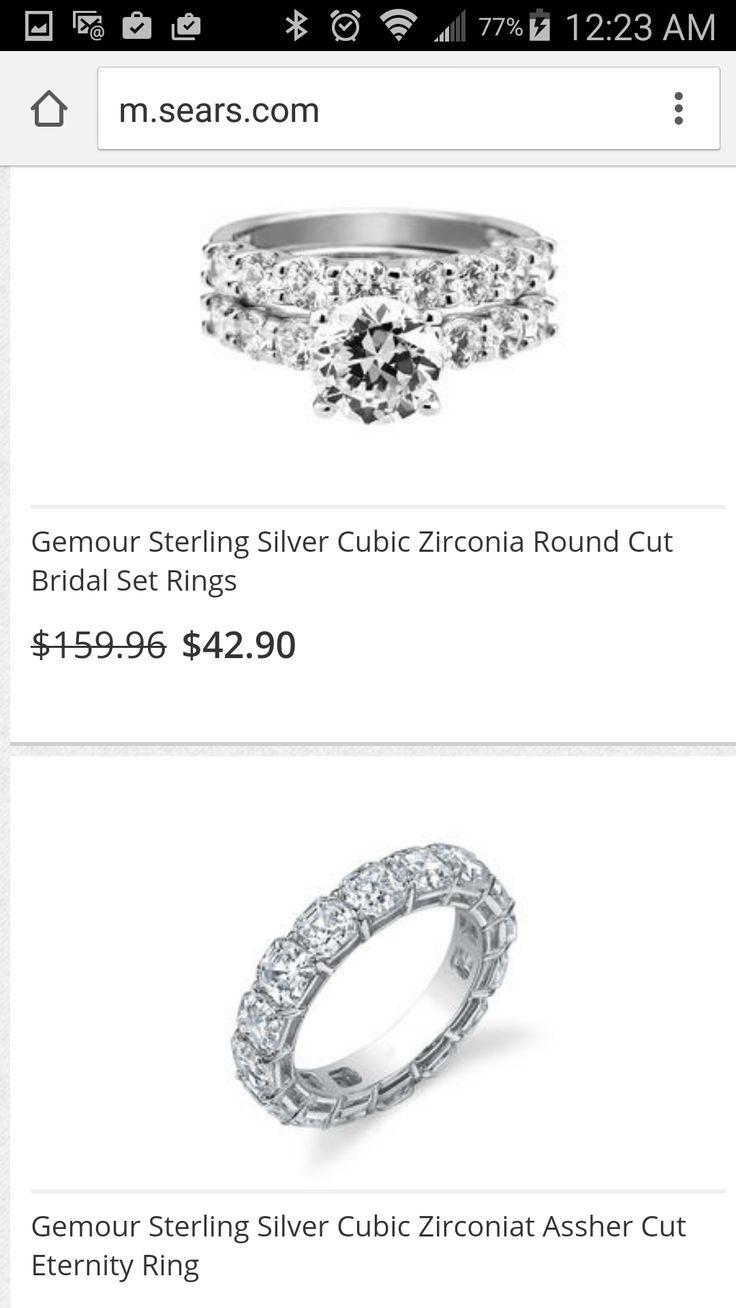 jewelry sears wedding rings Emeralds Oval Diamond Ring