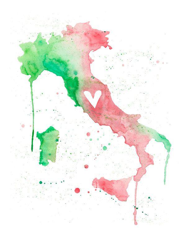 Italy Love by poppyandpinecone on Etsy, $20.00