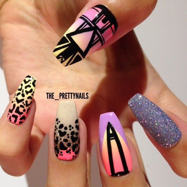 Instagram photo by the_prettynails #nail #nails #nailart