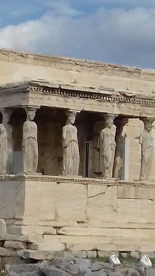 Athens Acropolis, the Caryatids.
