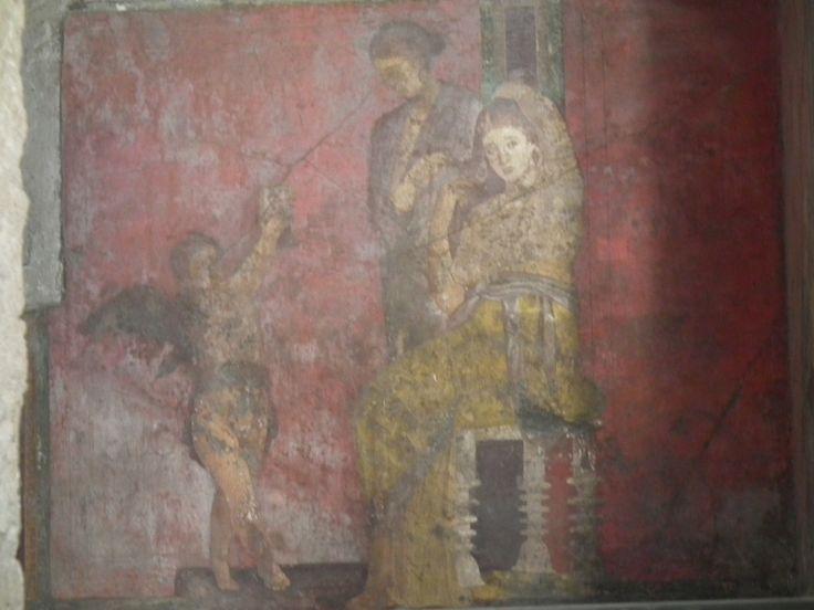 Pompei, Villa dei Misteri, Fanciulla