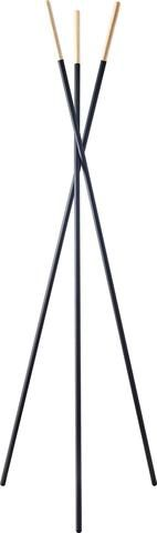 Louise Coat Rack - With a sturdy tripod stance, the Louise coat rack offers a design statement that easily suits contemporary and transitional decor in office or home.