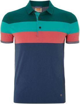 Hugo Boss Men's Striped polo shirt