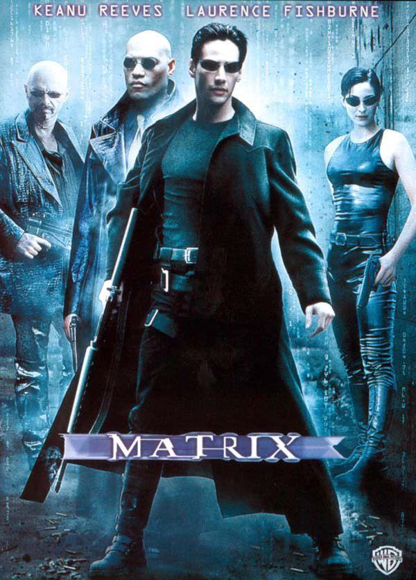 Matrix est un film de Lana Wachowski avec Keanu Reeves, Laurence Fishburne. Synopsis : Programmeur anonyme dans un service administratif le jour, Thomas Anderson devient Neo la nuit venue. Sous ce pseudonyme, il est l'un des pirates les