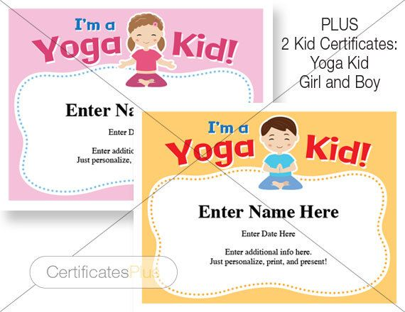The 25 best certificate of completion template ideas on pinterest yoga certificates pack certificate of completion participation recognition achievement yoga award yoga student yoga instructor gift yadclub Choice Image