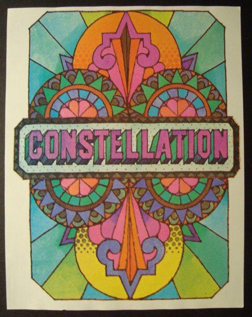 1960's psychedelic design