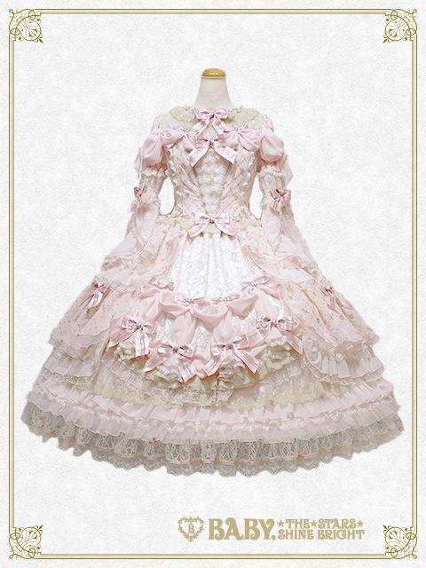 Baby, the stars shine bright Chère princesse, vivez un brillant avenir dress set