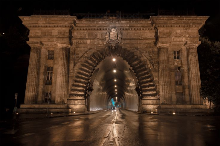 Buda Castle Tunnel: Last day of a Stag Do and we went for a wander on a rainy night and shoot some photo's before they turned half the City Lights off. https://i.redd.it/46inx4yp687z.png