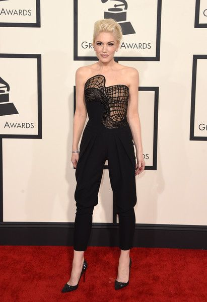 Gwen Stefani Photos Photos - Singer Gwen Stefani attends The 57th Annual GRAMMY Awards at the STAPLES Center on February 8, 2015 in Los Angeles, California. - 57th GRAMMY Awards - Arrivals