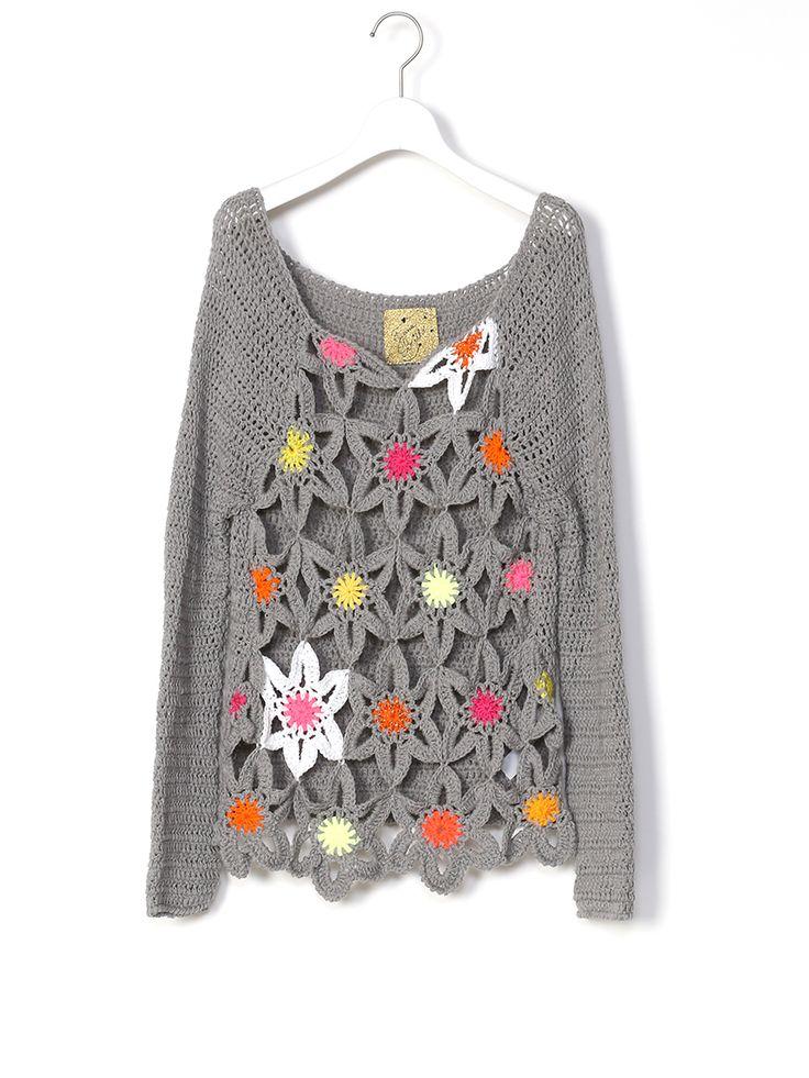 Juana de Arco crochet sweater