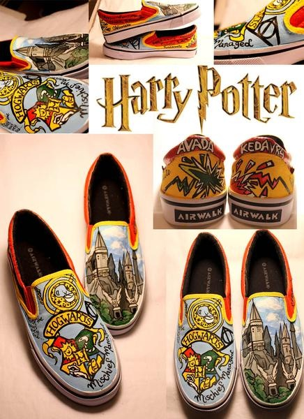 I found 'Harry Potter Custom Canvas Shoes' on Wish, check it out!