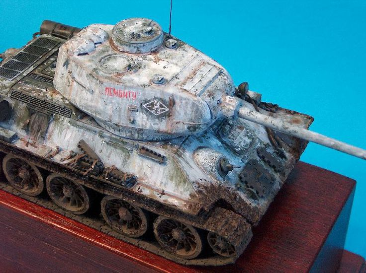 Military Tank For Sale >> T34-85 winter camo | Model tanks | Pinterest | Winter and Camo