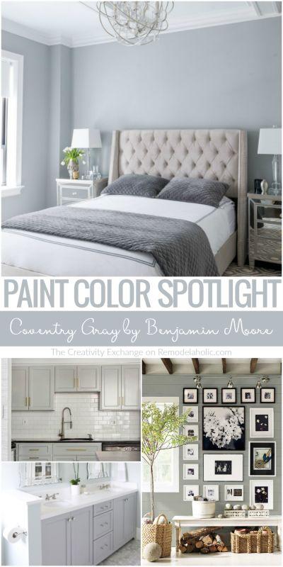 Color Spotlight: Benjamin Moore Coventry Gray
