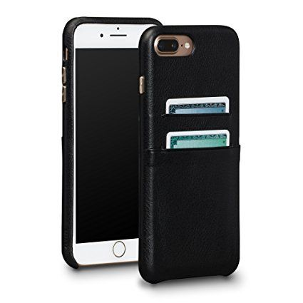 Snap On Wallet Leather Case for iPhone 6 Plus, 	  	  	Less is more, especially when it comes to your essentials. The slim wallet case has two nooks for your cards, and its leather wraps around your...