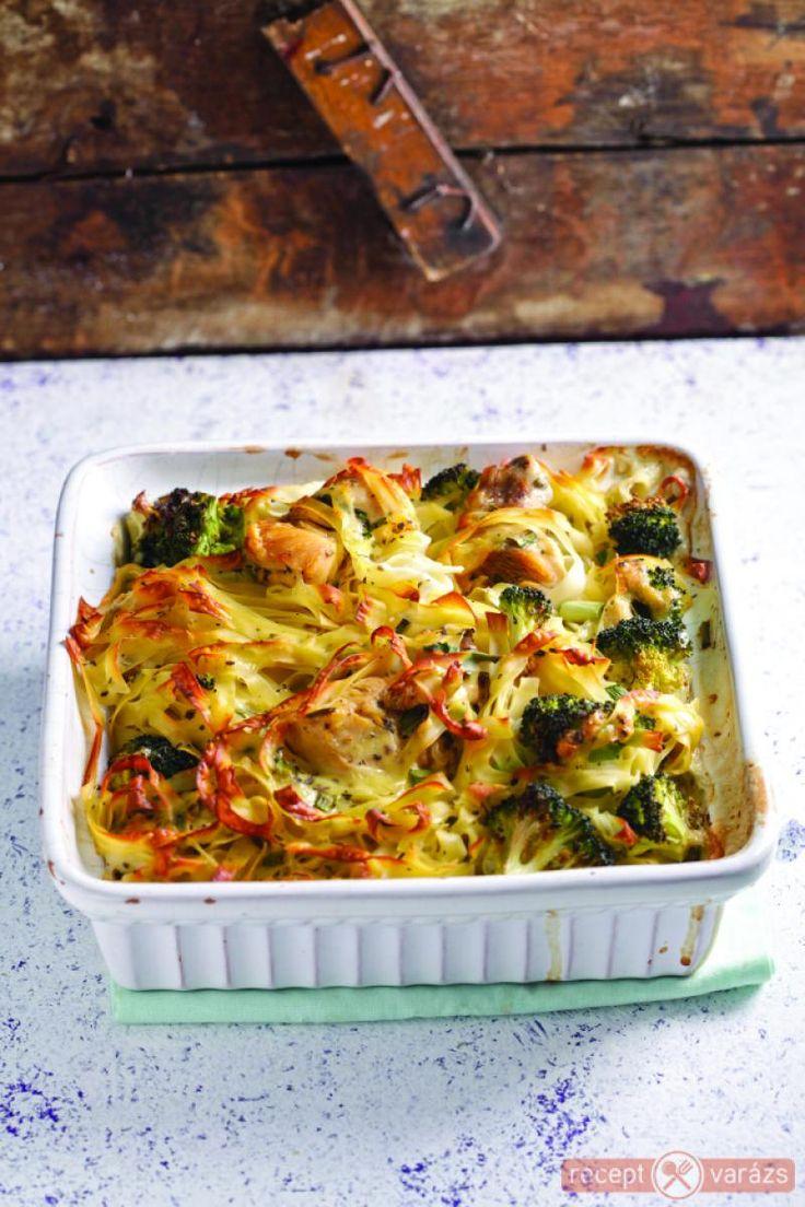 Brokkolis-tésztás csirke recept Készítsd el akár 2, vagy 12 főre, a Receptvarazs.hu ebben is segít!