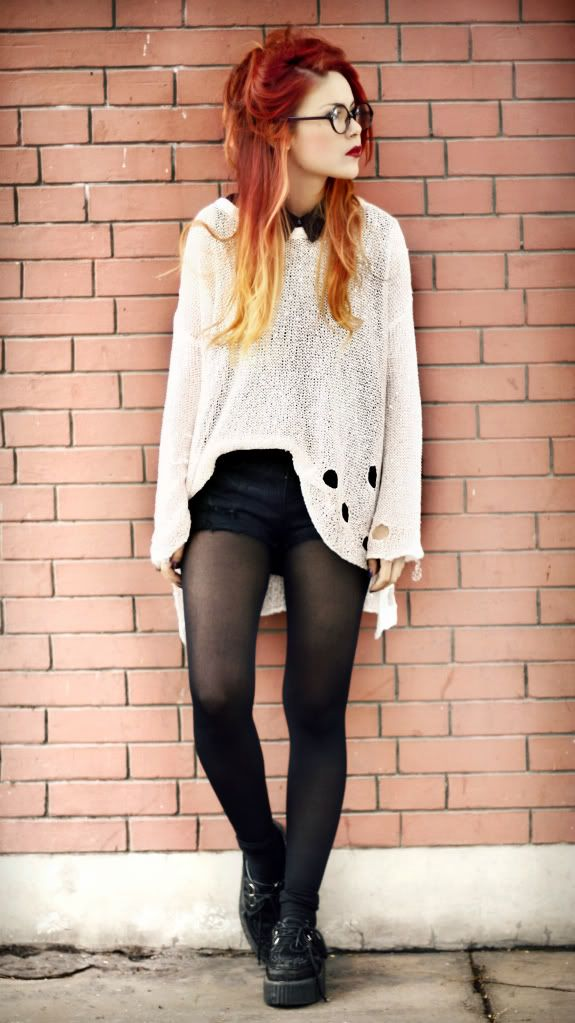Baggy jumper, hair wrap and leggings. Baggy jumper, hair wrap and leggings. Discover ideas about Black Outfits. Matilda Laitinen - Witch up, and wear black! Black Outfits Winter Outfits Cute Outfits Baggy sweater, flannel, shorts, leggings and boots See more.