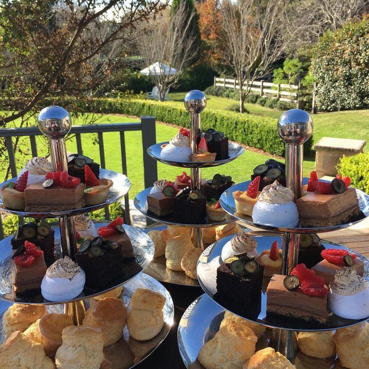 High tea at Bells, a beautiful way to enjoy the sunshine #hightea #indulge #bellsatkillcare