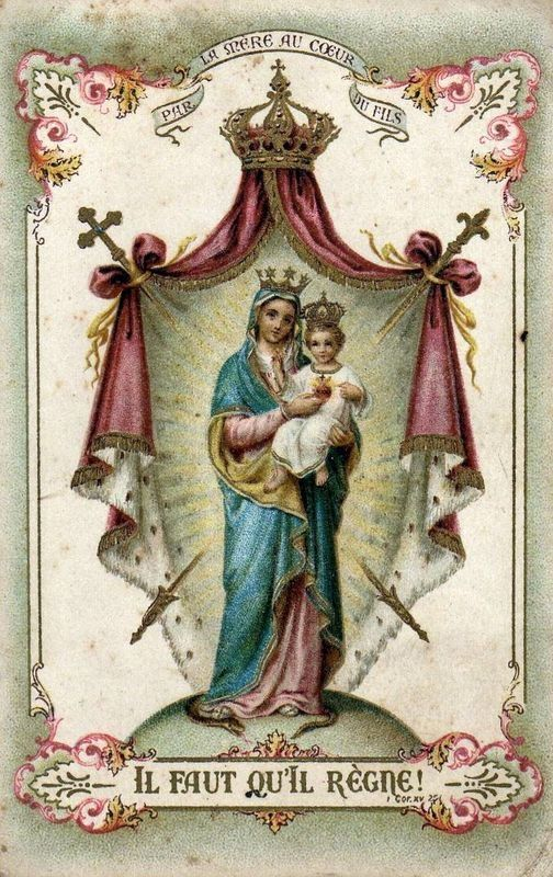 Our Lady of the Sacred Heart    (viaallaboutmary)