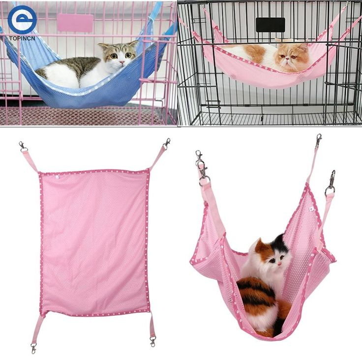 Pet Bed Mat Cat Cage Hammock For Cats Bed Mat For Summer Ventilation Net Cloth Pet Cages Hammock Under The Chair