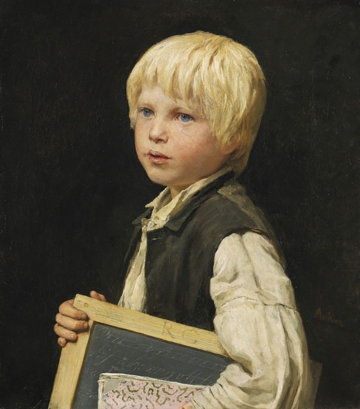 albert anker(1831-1910), school boy. oil on canvas, 51 x 45 cm. http://www.sothebys.com/ru/auctions/ecatalogue/2014/schweizer-kunst-swiss-art-zh1403/lot.14.html