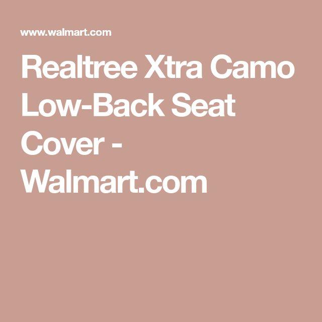 Realtree Xtra Camo Low-Back Seat Cover - Walmart.com