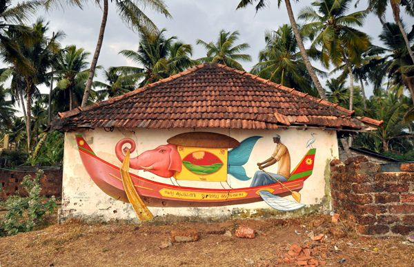 Inspiring Indian Murals in Kerala2 Inspiring Indian Murals in Kerala