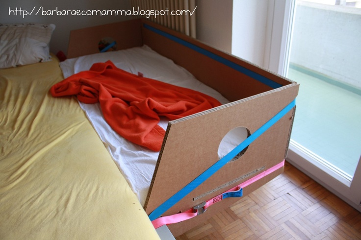 Ecomamma Bà: Side-bed di cartone? Yes, we can..