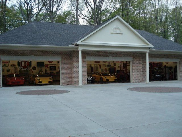 118 best dream garages images on pinterest dream garage for House on top of garage