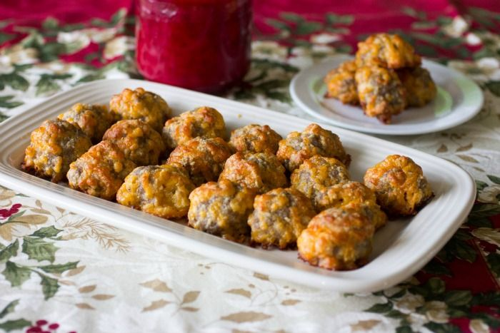These keto sausage balls are a holiday tradition around here. Gluten Free, Paleo, Low Carb, Keto Sausage Balls. Quick and Easy recipe.