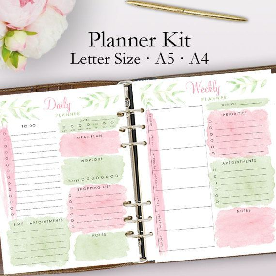 pdf monthly planner 2017 a4 free