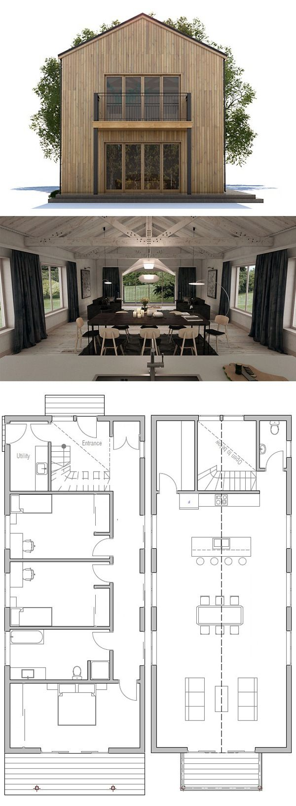Small house plan small house plans pinterest small house plans and smallest house