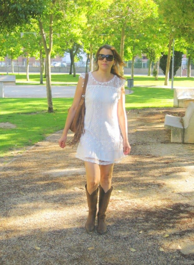EL ARMARIO DE UNA SHOPADDICT BY PATRIORO: ROMANTIC LOOK WITH BOHO-COWBOY TOUCH
